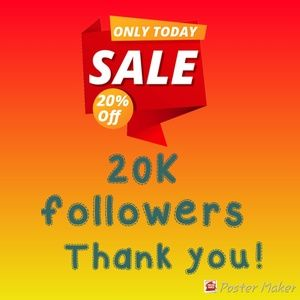 Tops - 20k followers appreciation sale!